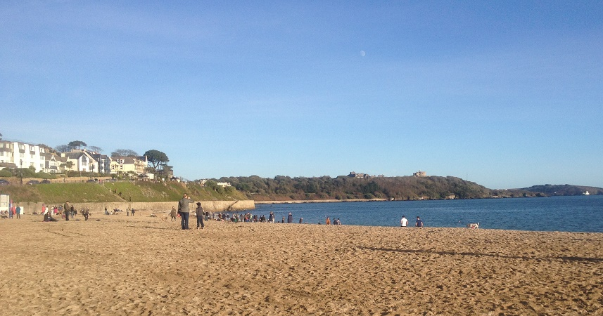 Gylly Beach is a great place to go if you're visiting Falmouth with kids