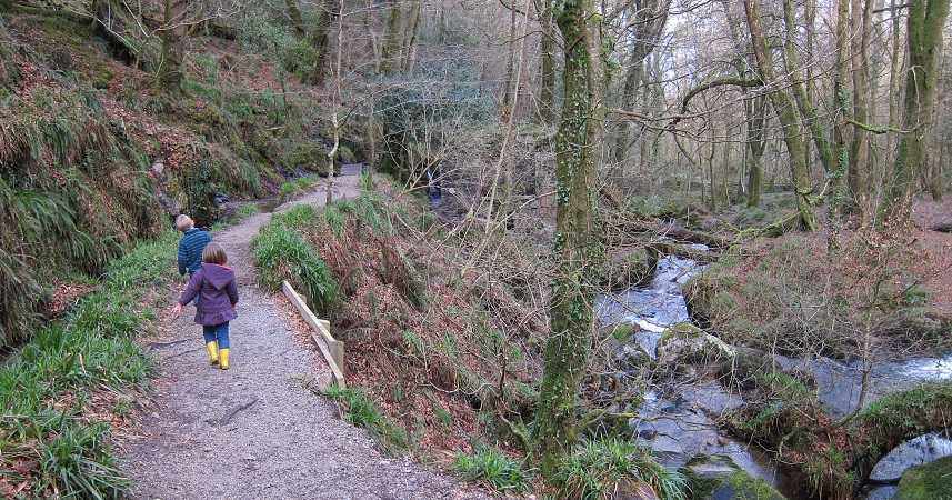 Kennall Vale is a great adventure and an ideal child friendly day out in winter