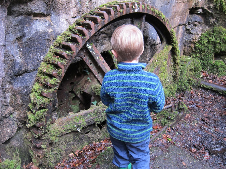 History comes to life in Kennall Vale, Cornwall