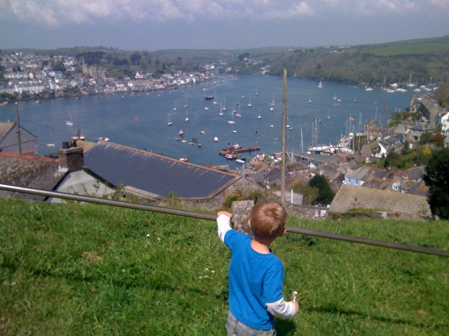The Hall Walk is a great way to explore the area around Fowey