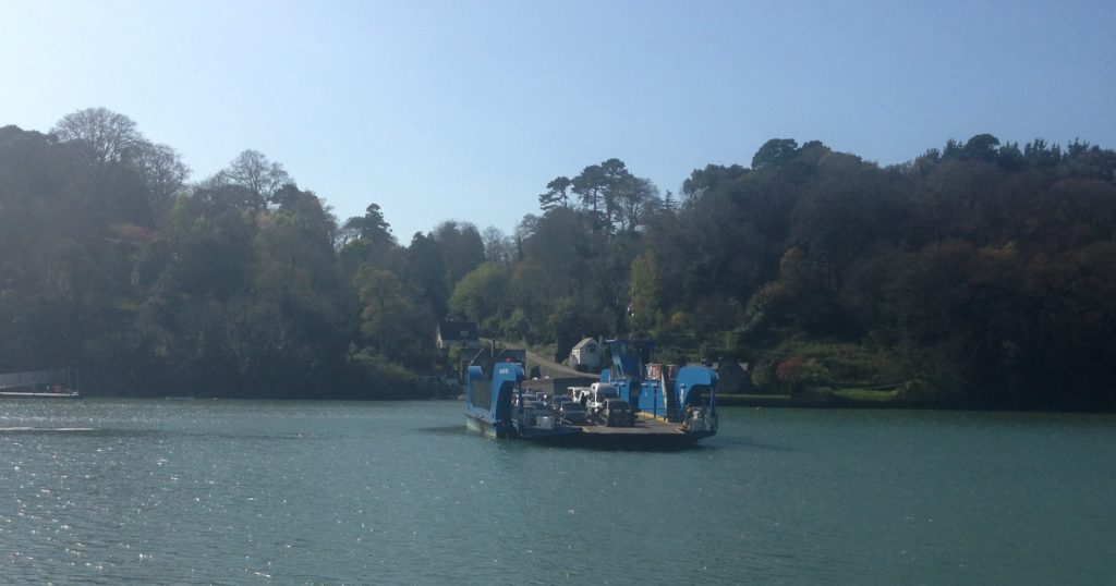 Trelissick and the King Harry Ferry