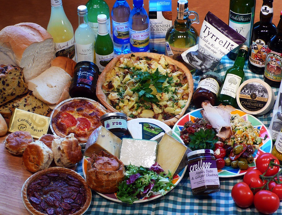 Choice delicious local Cornish produce for an outstanding picnic