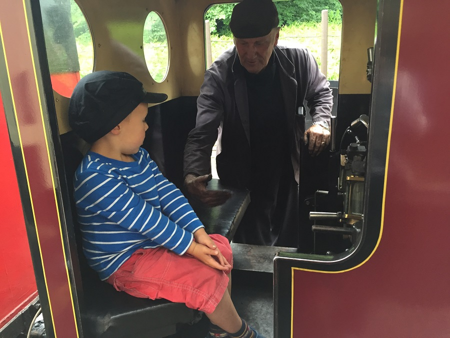 Lappa Valley's miniature steam train has kids spellbound