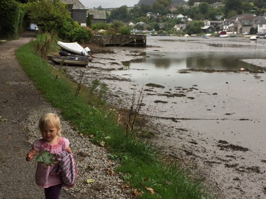 Lerryn is a pretty place to explore as part of a child friendly day out in Cornwall