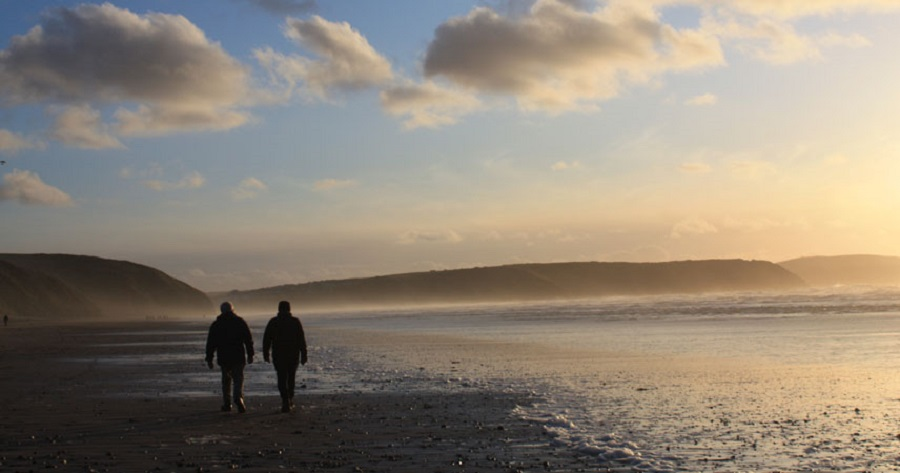 Discover your own private beach in Cornwall in November