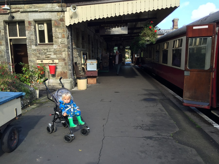 Step back into the age of steam at Bodmin & Wenford Railway - great for a family friendly day out in Cornwall