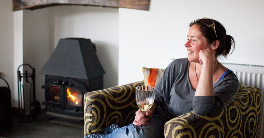 Enjoy a hygge weekend in Cornwall at Bosinver