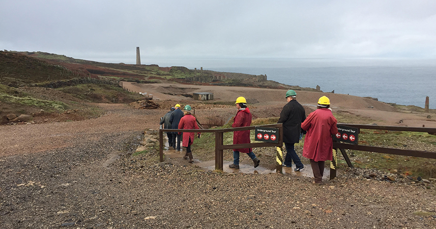 A guided tour of Geevor Tin Mine, west Cornwall