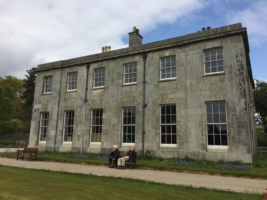 Enys House at Enys Gardens, Penryn, Cornwall