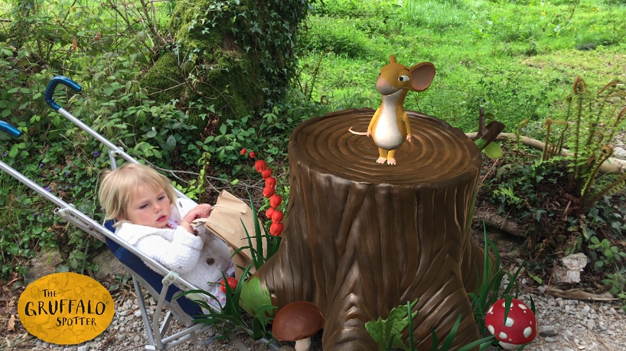 Say hello to all the characters from the book on the Gruffalo Trail in Cardinham Woods