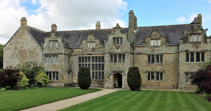 Trerice is an Elizabethan manor near Newquay, managed by the National Trust