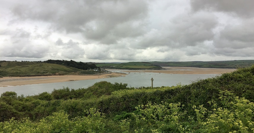Beautiful views across the Camel Estuary