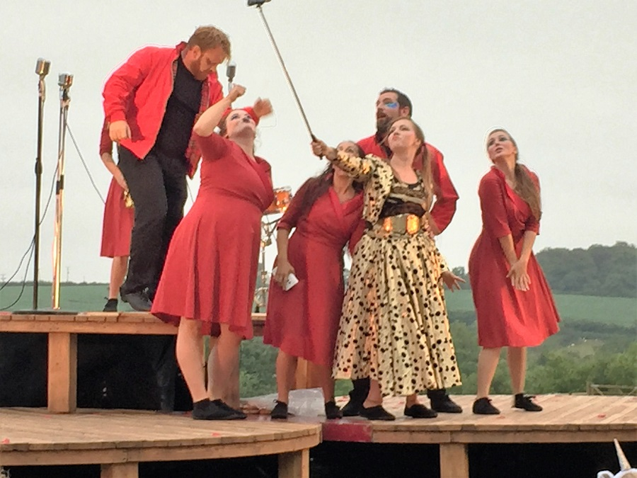 Heligan's stunning setting is ideal for outdoor theatre