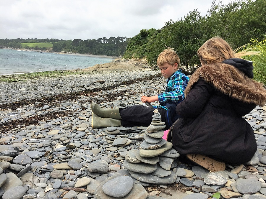 For a family friendly day out in Cornwall, try a Spotty Dog Trail