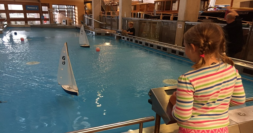 The National Maritime Museum Cornwall has a range of interesting exhibits to engage the whole family