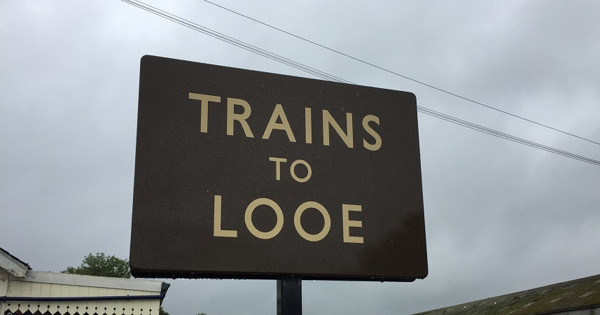 A journey to Looe by train could become a family adventure