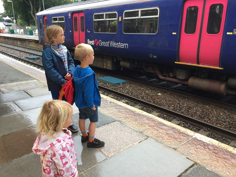 A day out by train can be an adventure for children