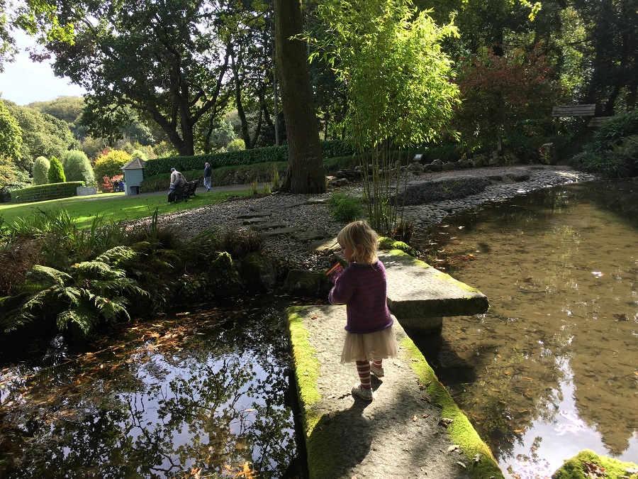 Pinetum Gardens is an ideal choice for a family friendly day out in Cornwall