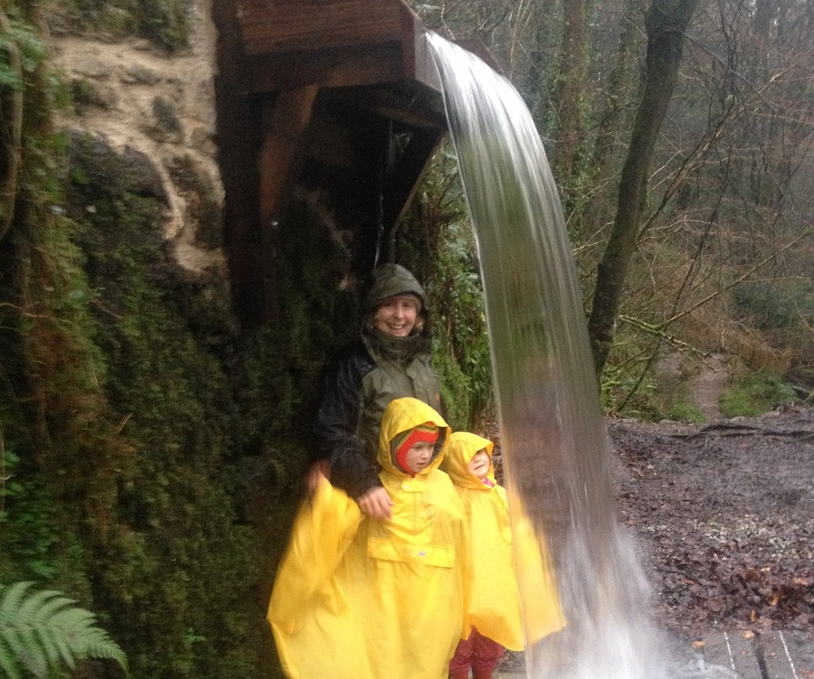 Kennall Vale is slightly wild, making it great for family adventures in Cornwall