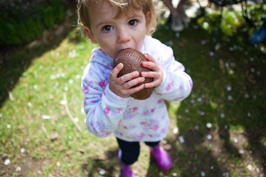 Kids of all ages enjoy Easter egg hunts