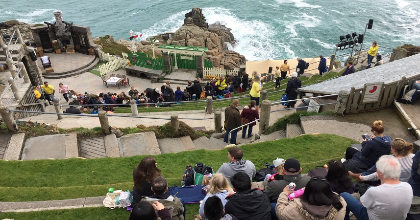 The Minack Theatre is the most iconic venue for outdoor theatre in Cornwall