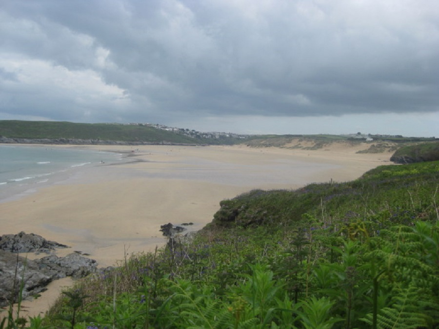 Crantock is one of Cornwall's most popular family beaches