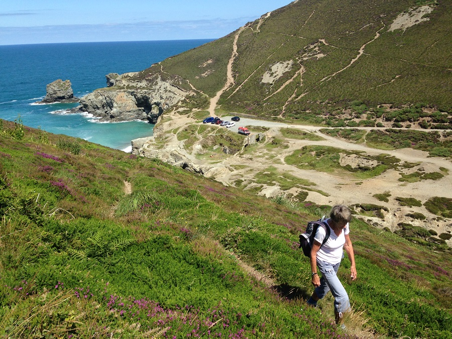 Cornwall's coast path offers lots of opportunities for spring walks