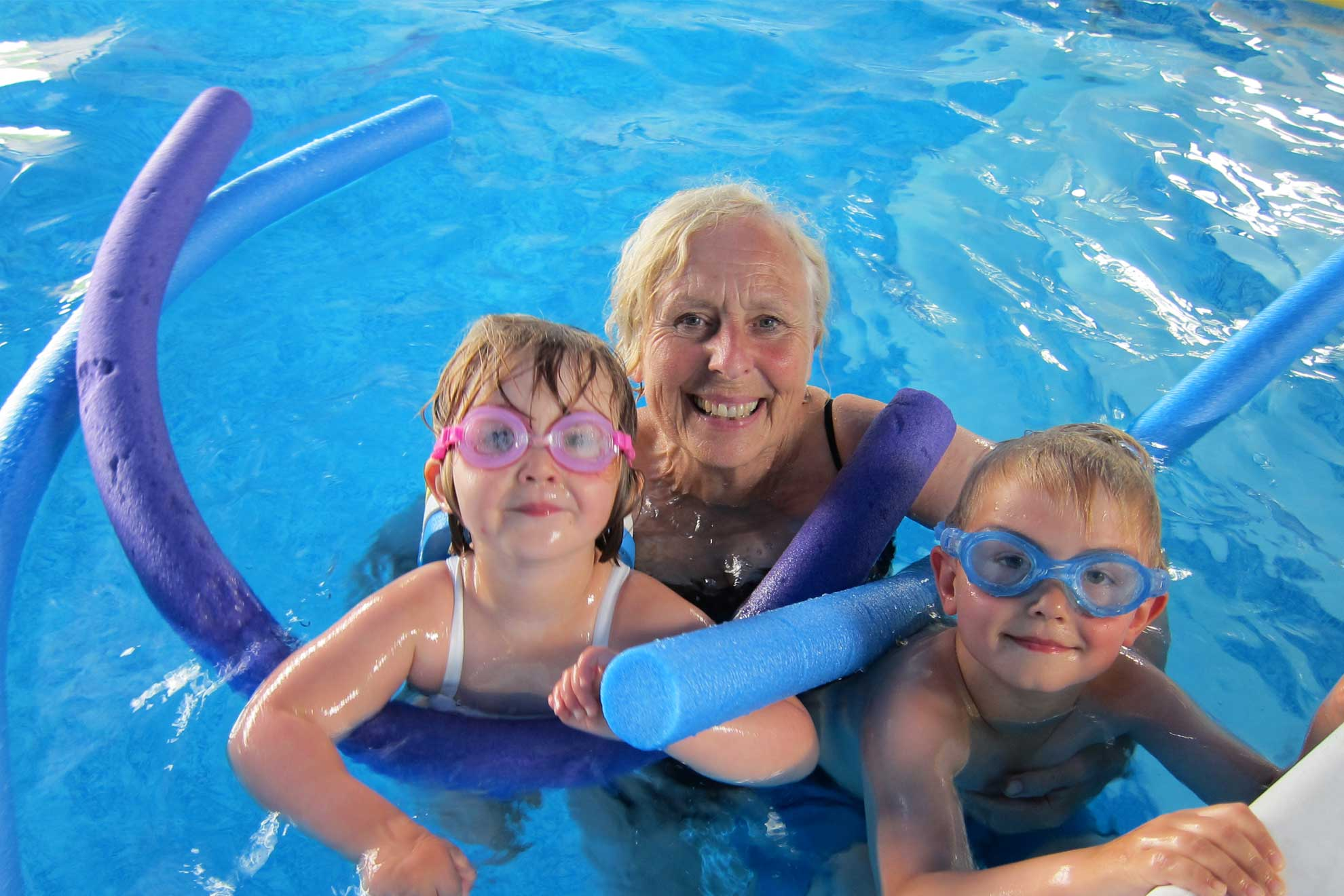 Bosinver's indoor pool is great for toddler friendly breaks in Cornwall all year round