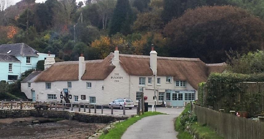 Pandora Inn, Cornwall