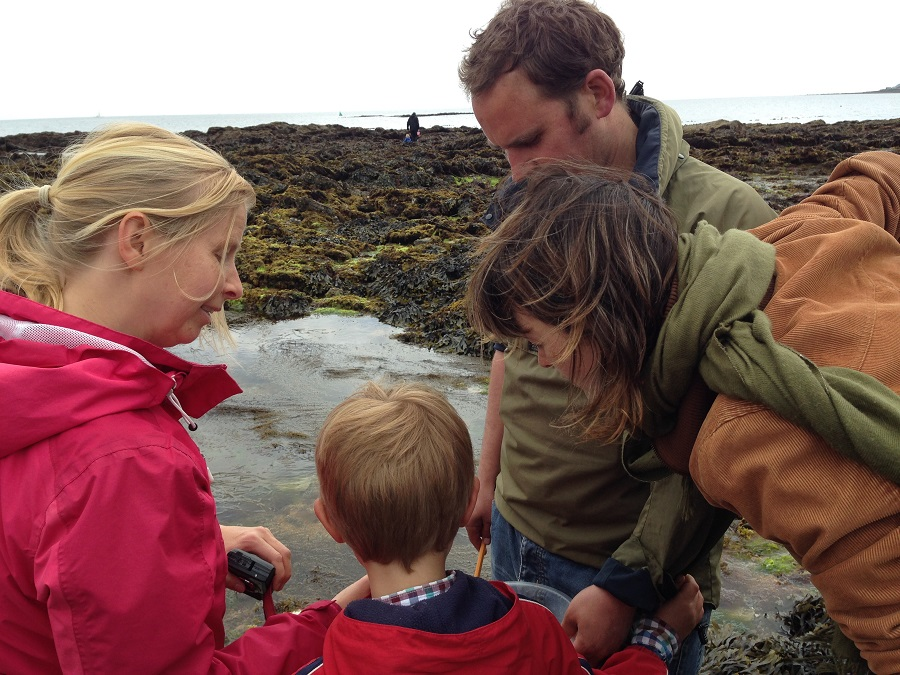 Rock Pooling in Cornwall with Heather Buttivant
