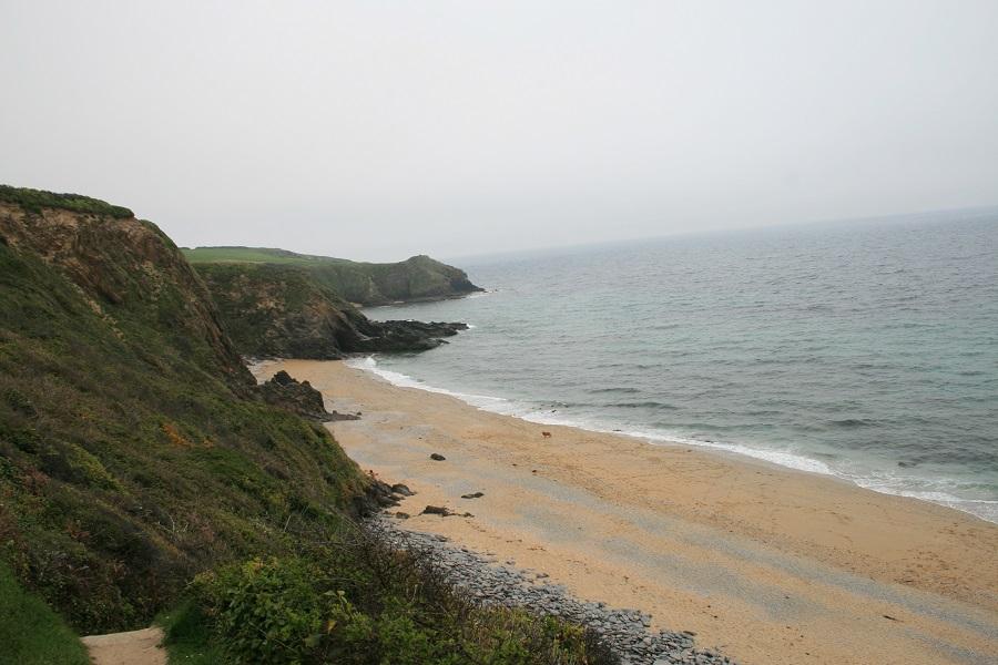 Roseland Peninsula beach