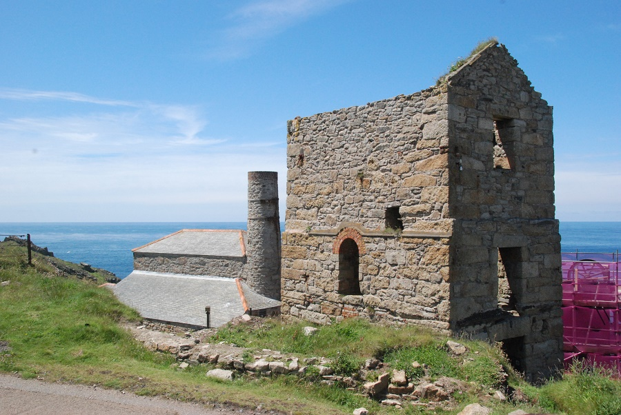 Levant Mine and Beam engine is situated near St Just in the far west of Cornwall
