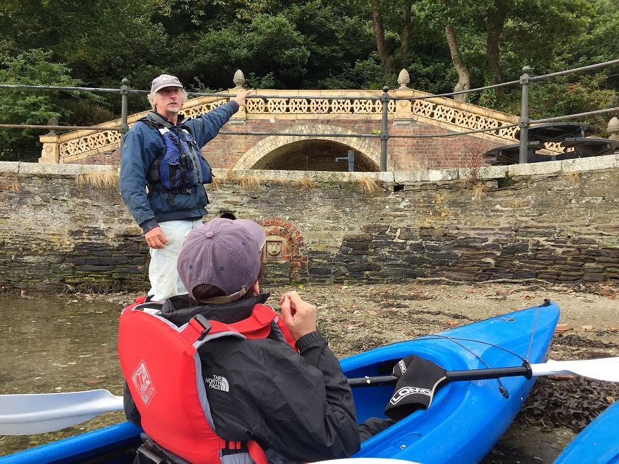 Encounter Cornwall run guided canoeing trips on the River Fowey suitable for families