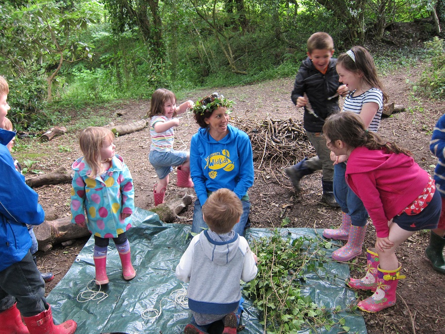 Bosinver's Wild Kids club is popular with toddlers and bigger kids too