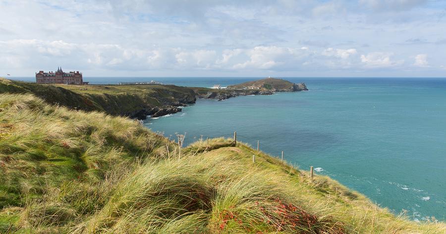 The Headland Newquay coast Cornwall England UK