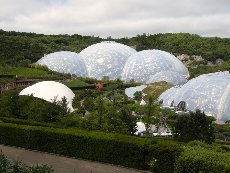 The Eden Project is one of many attractions you can visit during a locals' break at Bosinver