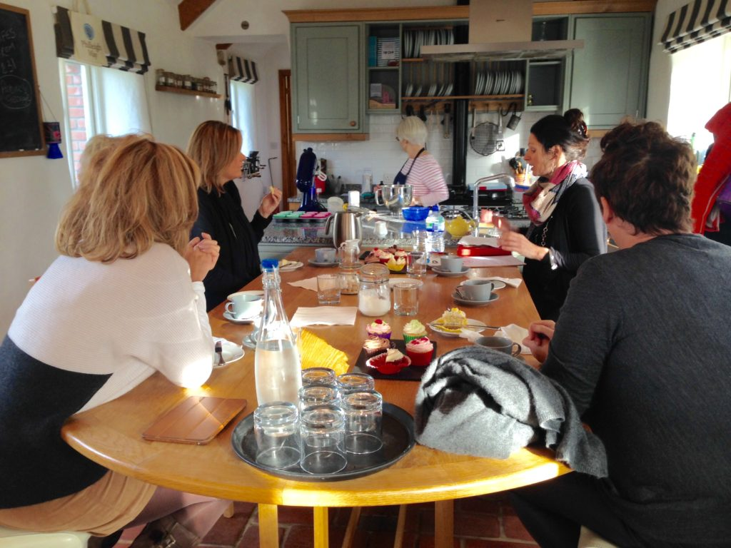 Phileigh Way Cookery School, cupcakes, Cornwall, Action Nan, Days out for Grown Ups