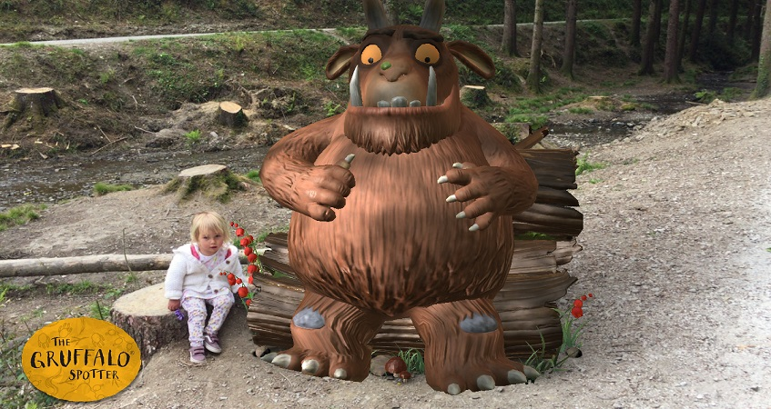 Gruffalo Trail at Cardinham Woods