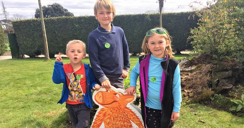 Heligan's school holiday activities are a great way to keep kids entertained