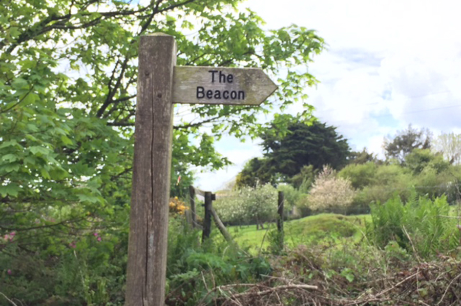 Sign to the Beacon, St Agnes