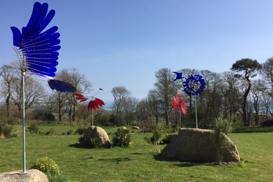 Tremenheere Sculpture Gardens, Cornwall