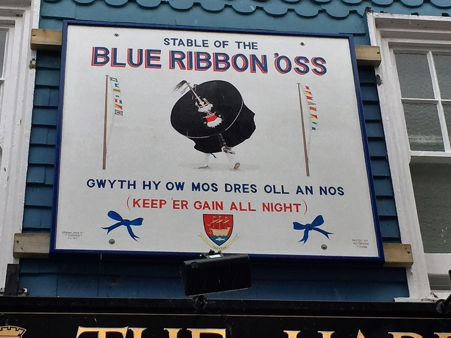 The Obby 'Oss is famous in Cornwall