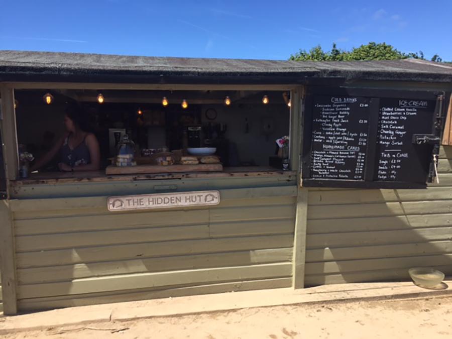The Hidden Hut, Porthcurnick Beach