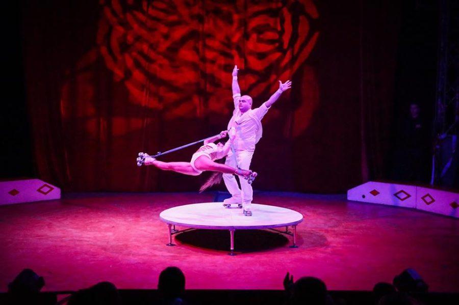 Circus Funtasia acrobats