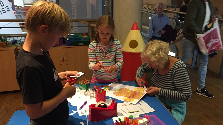 The National Maritime Museum Cornwall offers craft activities for children