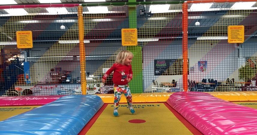 Kidzworld offers rainy day fun for children in Cornwall