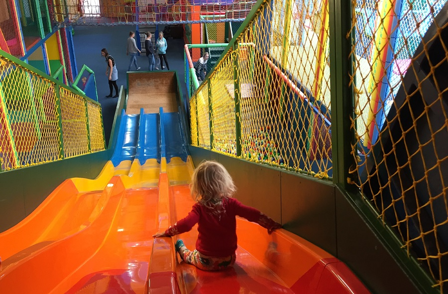 Kidzworld is one of Cornwall's largest indoor play areas for children