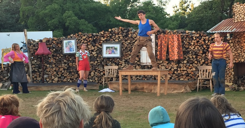 Heligan Gardens is the perfect backdrop for dance and theatre performances in Cornwall