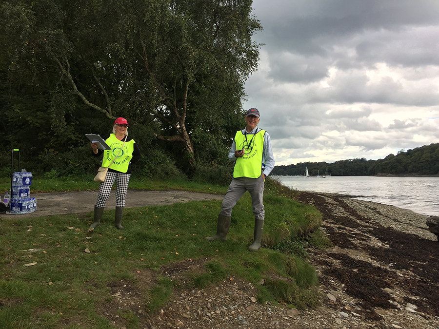 Fal River Walk, Rotary Club volunteers