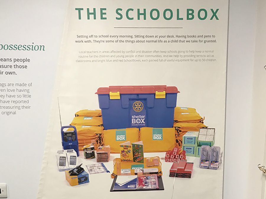 Schoolbox Shelterbox